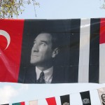 Banderole à l'effigie d'Atatürk