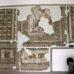 Fresques en mosaiques au musée archéologique d'Antioche