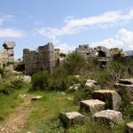Le site du monastère de Saint Siméon le Stylite