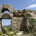 Reste d'une église sur le site du monastère de St Siméon le Stylite