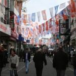 Rue de Beşiktaş avant les élections