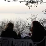 Vue sur la Mer de Marmara de Moda