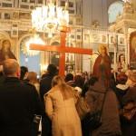 Vendredi Saint à l'église Aya Triada de Taksim