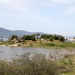 Vue du lac de Bafa