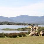 Vue partielle sur le lac de Bafa