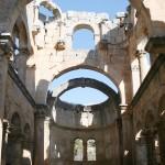 Dans une des églises d'Alahan