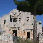 Eglise reconstruite d'Alahan