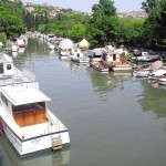 La rivière Göksu à Istanbul