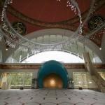 Dans la mosquée Şakirin à Üsküdar