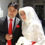 Jeunes mariés à Eyüp