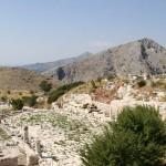 Agora inférieure et rue à Colonnades de Sagalassos
