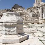 Dans l'agora supérieure de Sagalassos