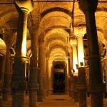 La citerne aux 1001 colonnes à Istanbul