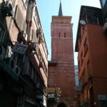 Minaret d'Arap camii à Istanbul