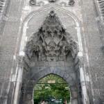 Portail seldjoukide de la medrese çift Minare à Sivas