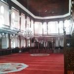 Salle de prière de la mosquée des Arabes à Istanbul