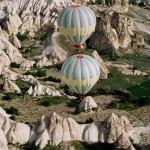 Spectacle matinal en Cappadoce