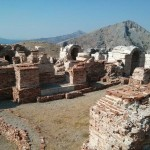 Vue sur les thermes impériaux de Sagalassos