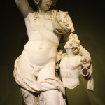 Dyonisos et satyre - musée de Burdur