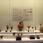 Objets venant de la nécropole d'Uylupınar, musée de Burdur