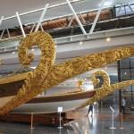 Proues de caiques impériales, musée de la mer d'Istanbul