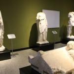 Statues du site de Kremna, musée de Burdur
