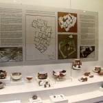 Vaisselle provenant du site de Kuruçay, musée de Burdur