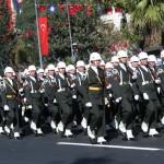 Défilé Fête de la République à Istanbul