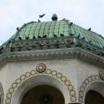 Dôme de la fontaine Guillaume II à Istanbul