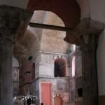 Dans la mosquée Kalenderhane d'Istanbul