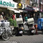Différents modes de transports pour livraisons à domicile à Istanbul