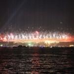 Effets garantis sur le pont du Bosphore pour la fête de la République turque