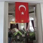 Entrée du mausolée de Mahmut II, Istanbul