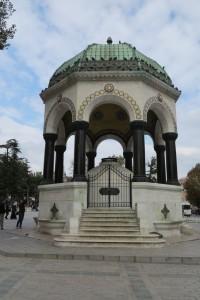 Fontaine allemande de Sultanahmet