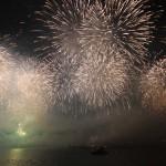 Le Bosphore s'embrasse lors de la fête de la République turque