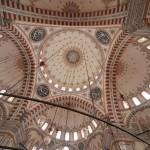 Le dôme et les demi-dômes de la mosquée de Fatih, Istanbul