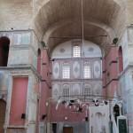 Le mihrab et le minbar de la mosquée Kalenderhane d'Istanbul