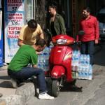 Livreur de boissons à domicile, Istanbul
