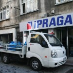 Livreur de gaz et d'eau, Istanbul