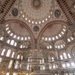 Salle de prière de la mosquée de Fatih à Istanbul