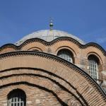 Un des dômes de la mosquée Kalenderhane d'Istanbul