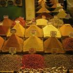 Au marché aux épices d'Istanbul