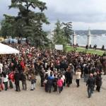 La foule se presse tous les 10 novembre à Dolmabahçe
