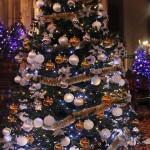 Un des sapins de Noel de l'église Saint-Antoine d'Istanbul
