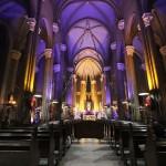 l'église Saint Antoine d'Istanbul durant les fêtes de Noel