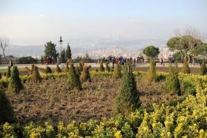 La colline de Büyük Çamlıca à Istanbul
