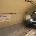 Le Marmaray rentre en gare