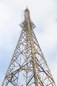 Un pylône de la colline de Büyük Çamlıca
