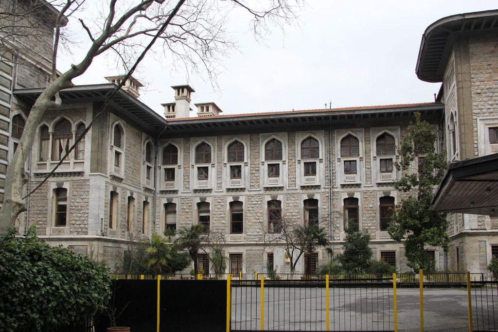 Le lycée de garçons d'Istanbul signé Vallaury