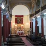 Dans l'église Notre Dame du Rosaire d'Izmir